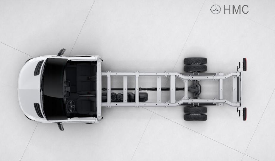Sprinter 516 Chasis Largo